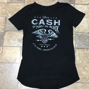 Zion Rootswear Johnny Cash Tissue T-Shirt